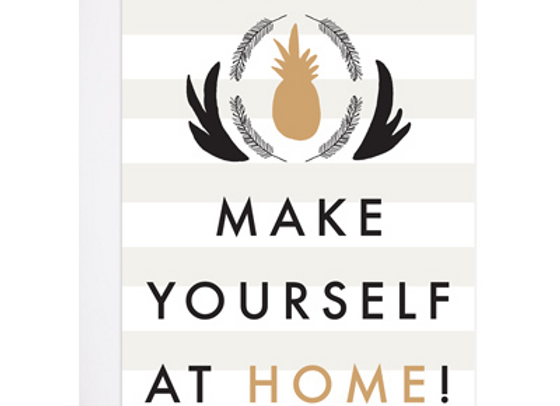 Make Yourself At Home Card