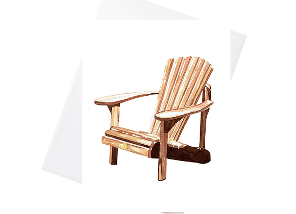 Muskoka Chair Card