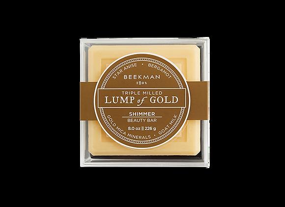 Goat Milk Soap Lump of Gold
