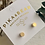 Thumbnail: Cylin Minimalistic Stud Earrings Gold