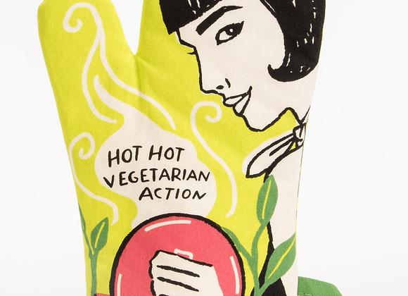 Hot Hot Vegetarian Oven Mitt