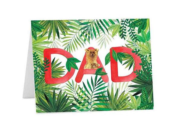 Bear Dad Card