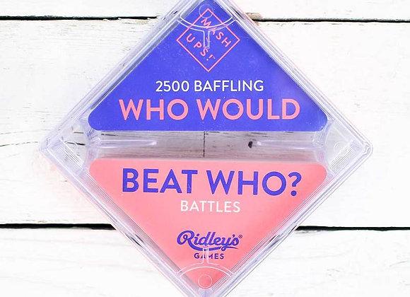 Mash Ups! Beat Who? - Card Game