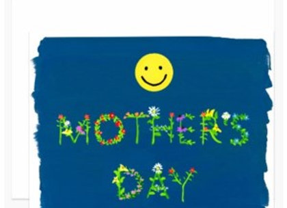 Smiley Mother's Day Card