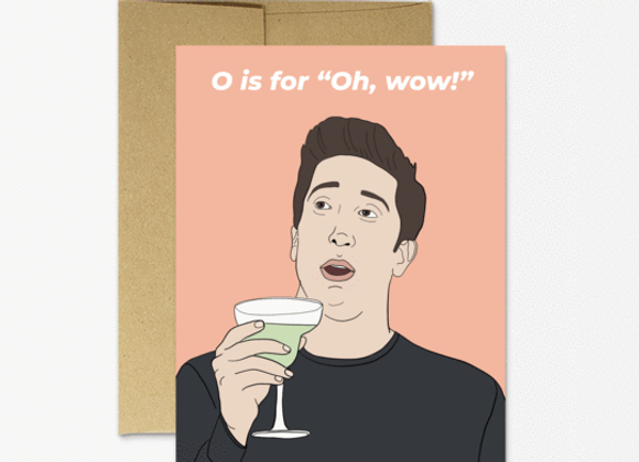 Ross Oh Wow Birthday Card
