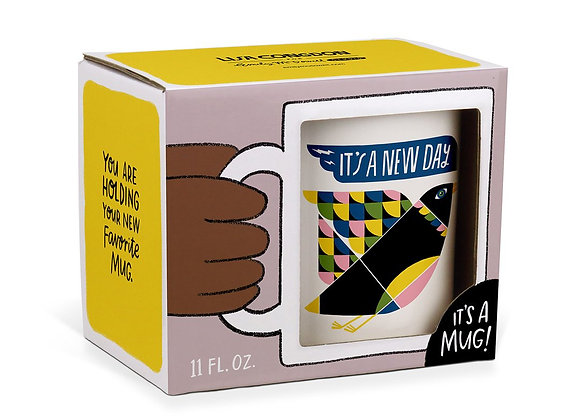 It's a New Day mug