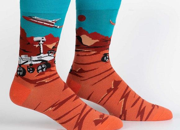 Men's Crew Mars Rover Socks