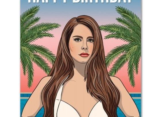Lana Happy Birthday Card by The Found