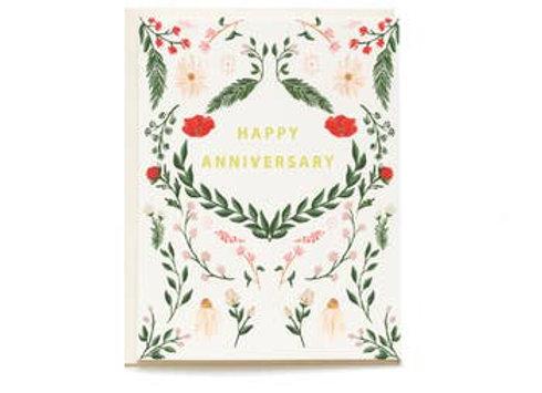Wild Meadow Anniversary Card by Pen Pillar