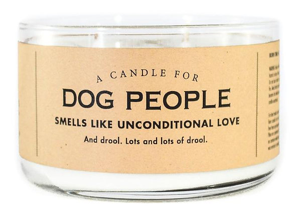 Candle For Dog People