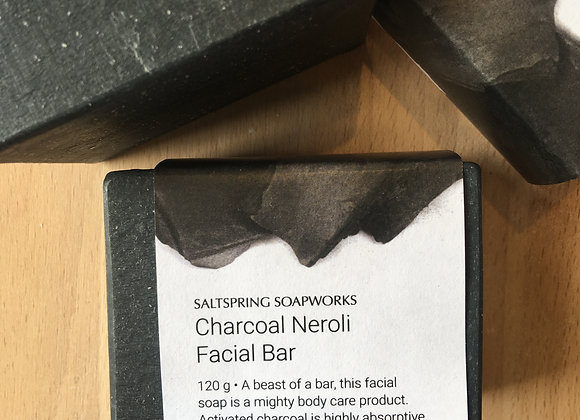 Charcoal Neroli Facial Bar