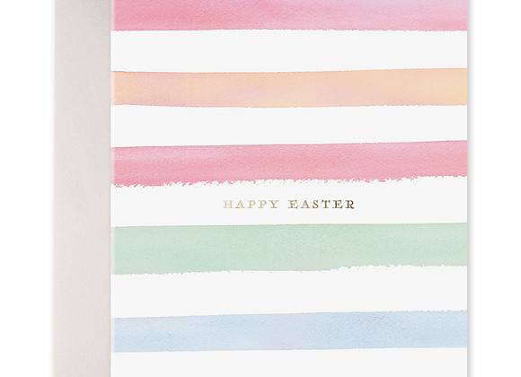 Easter Stripes Card