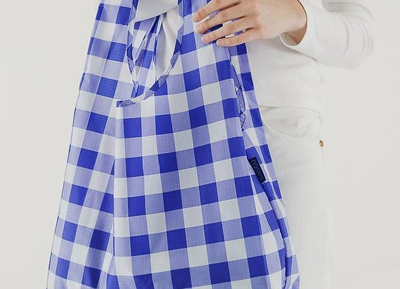 Reusable Standard Baggu Big Check Blue