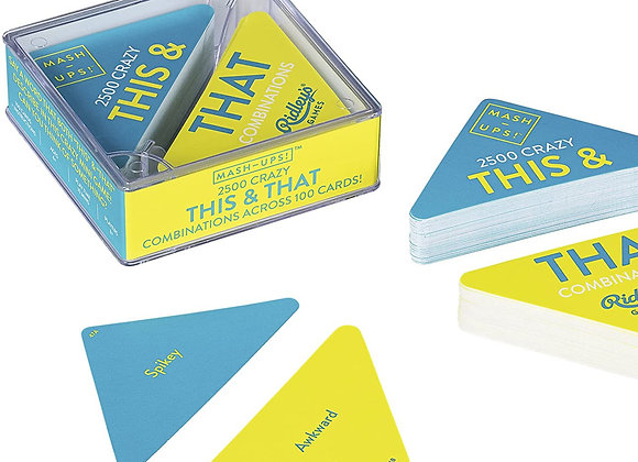 Mash Ups! This & That - Card Game