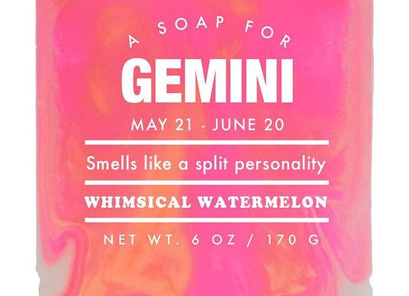 Astrology Soap Gemini