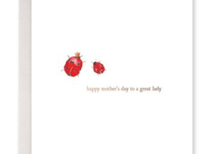 Happy Mother's Day To A Great Lady Card