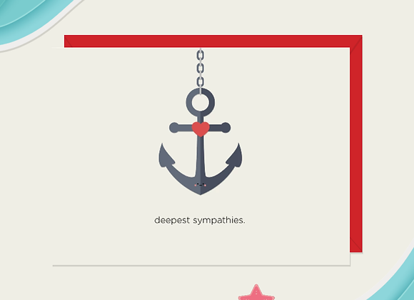 Deepest Sympathies Card