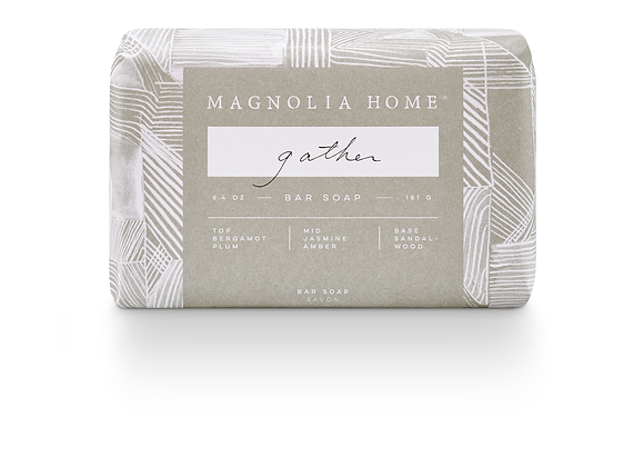 Magnolia Home Gather Bar Soap by Joanna Gaines
