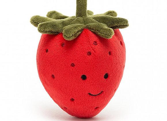 Fabulous Fruit Strawberry Plush Toy