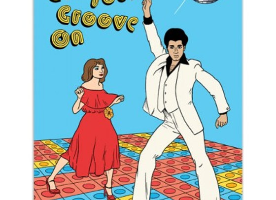 Get Your Groove On Card by The Found