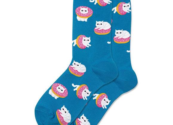 Donut Cat - Socks