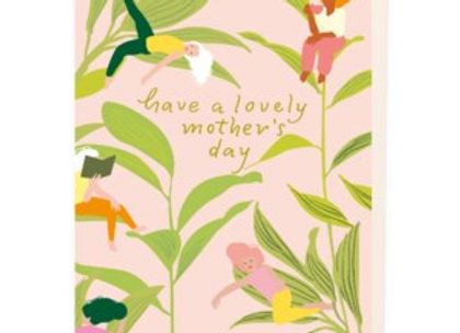 Mother's Relaxing Day Card