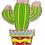 Thumbnail: @262 Enamel Pin Cactus