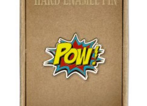 @307 Enamel Pin Pow!