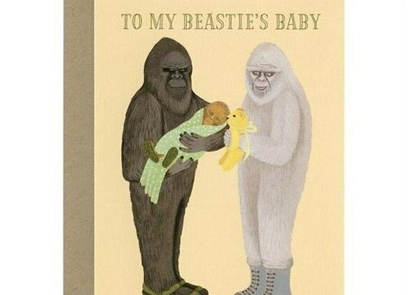 To My Beastie's Baby Card
