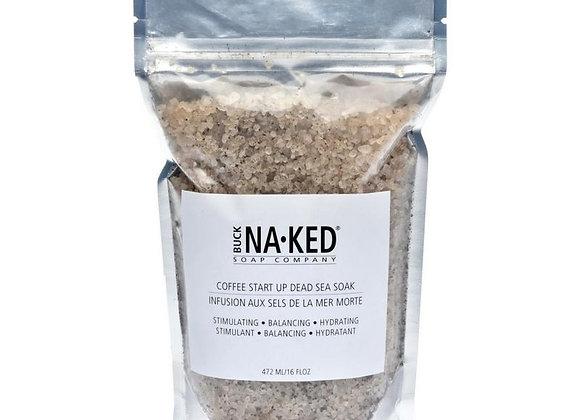 Coffee Start Up Dead Sea Salt Soak