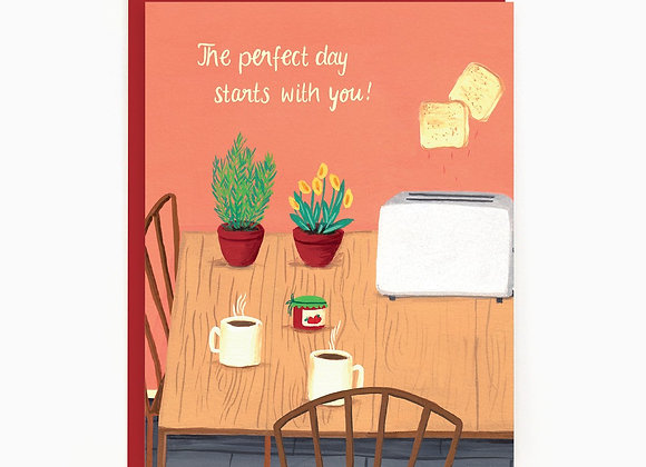 Love Perfect Day Card