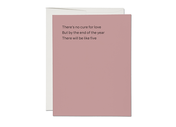 Cure For Love Card
