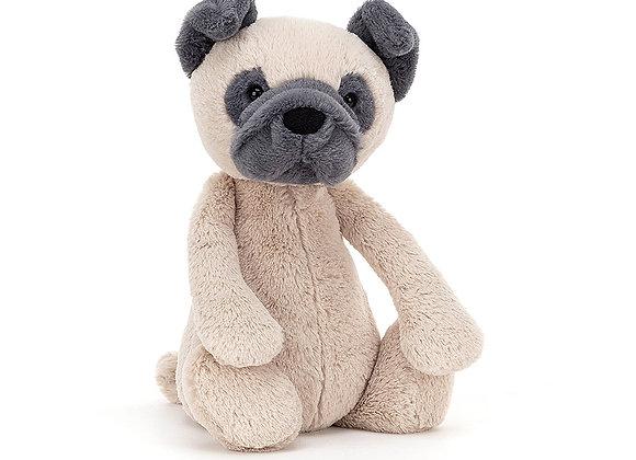 """Bashful Pug 12"""" Plush Toy"""