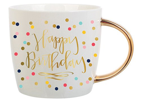 Happy Birthday Confetti Mug
