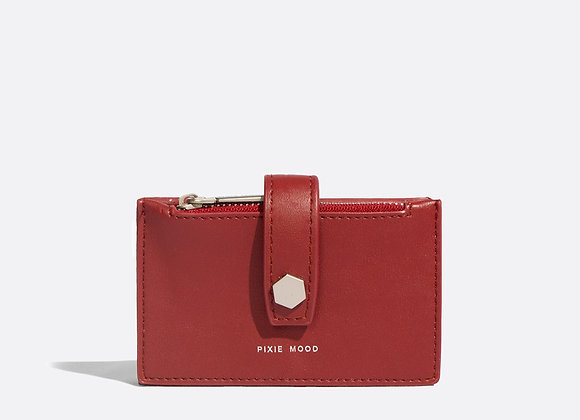Rika Card Holder - Red