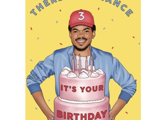 There's A Chance Birthday Card