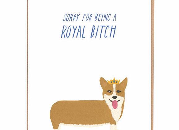 Royal B**ch Card