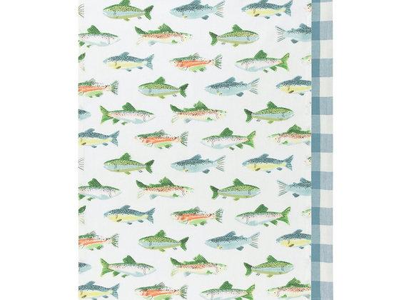 Gone Fishin' Dishtowel Set of 2