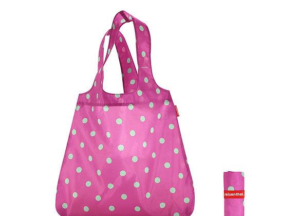 mini max shopper - magenta dot