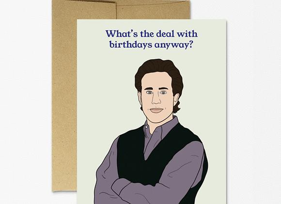 Jerry Birthday Card
