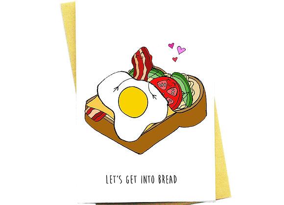 Get Into Bread Card