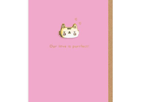 Cat Purrfect Card