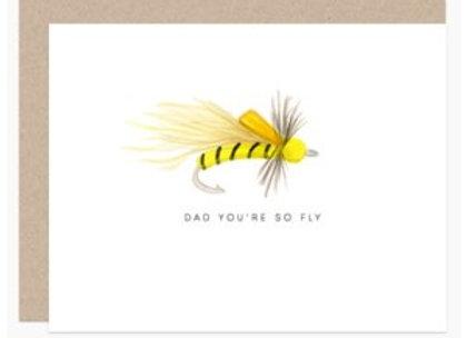 Dad Fly Card