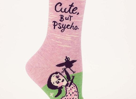 Cute, But Psycho Crew Sock