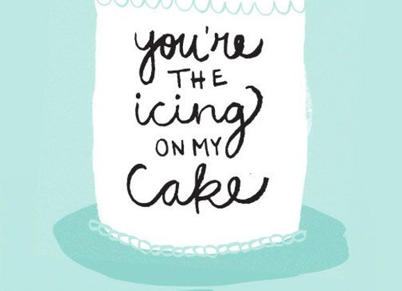 Icing On The Cake Card