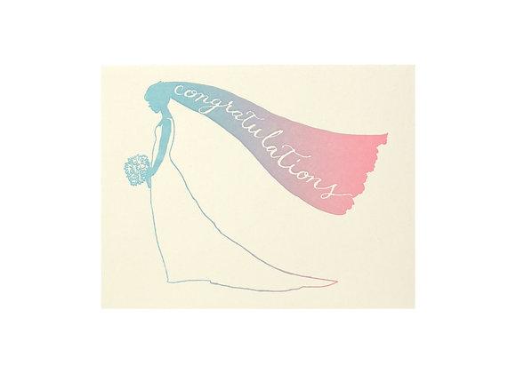 Congrats Bride Card