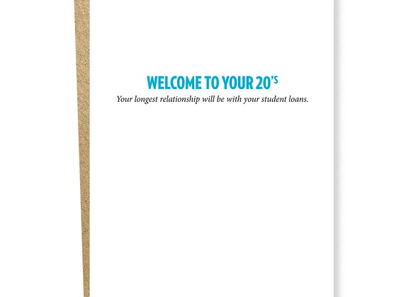 Decade 20s Relationship Card