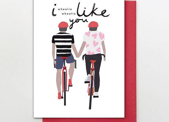 Wheelie Like You Card