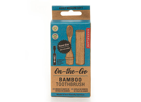 On The Go Bamboo Toothbrush
