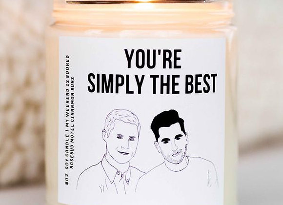 Schitt's Creek Candle You're Simply The Best